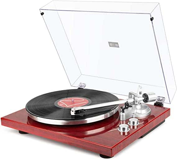 1byone Turntable with Built-in