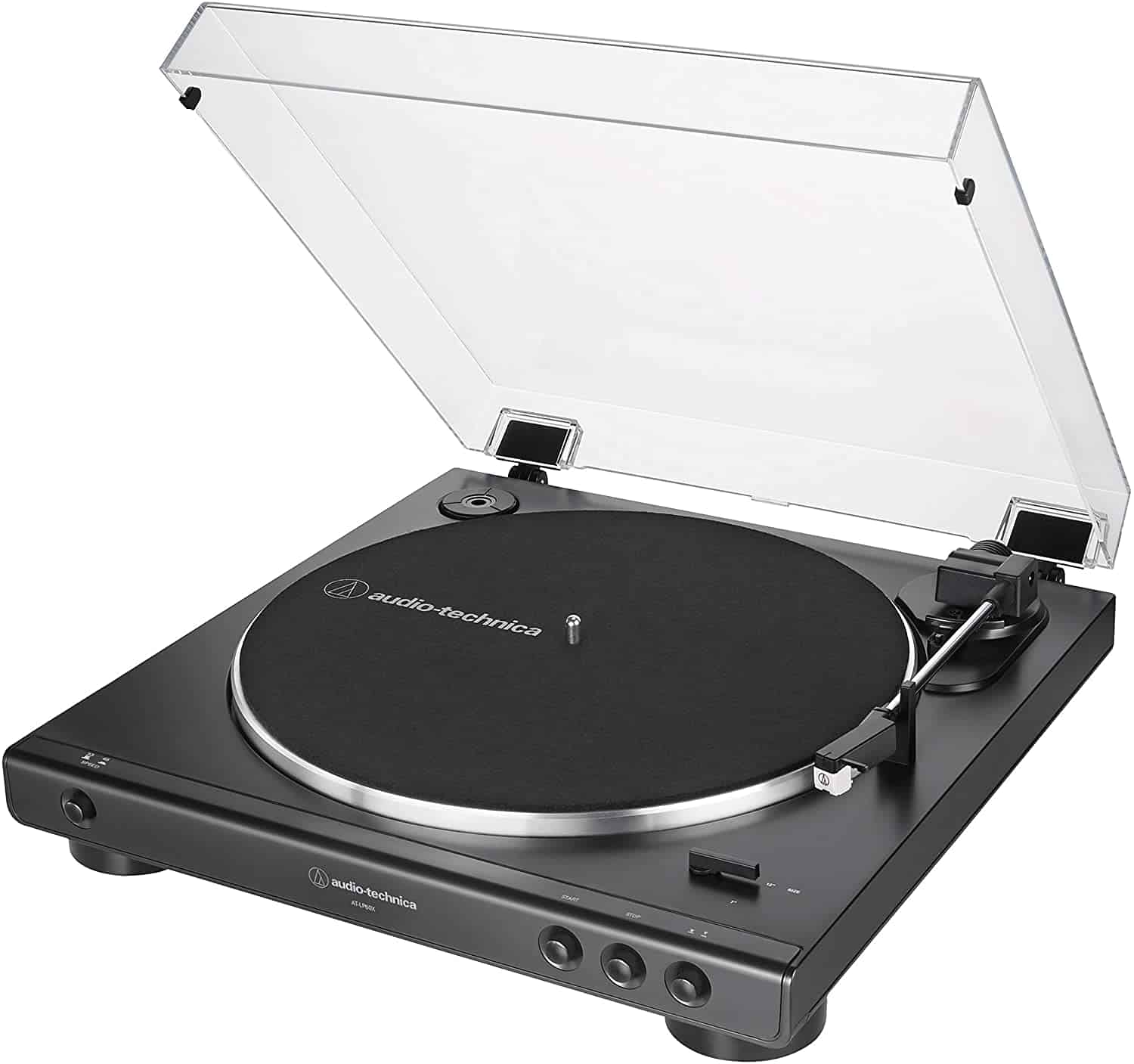 Audio-Technica AT-LP60X-BK Turntable with Preamp