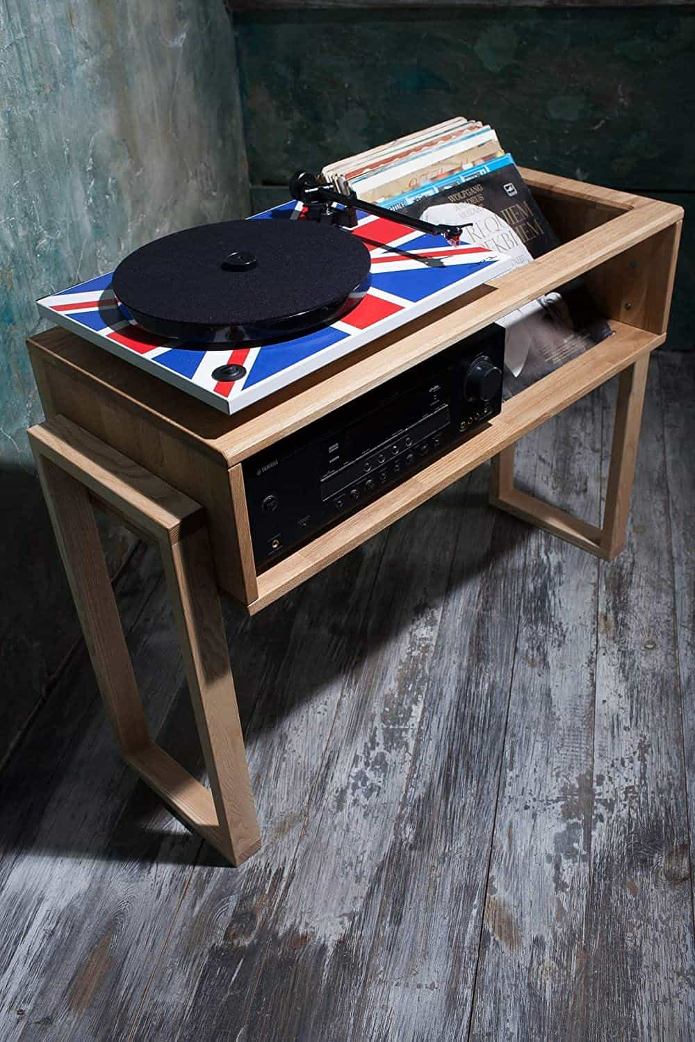 Lumiwood Record Player Stand Review