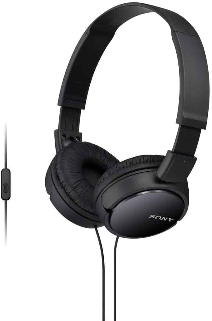 Sony MDRZX110AP ZX Series Extra Bass Headset with Mic