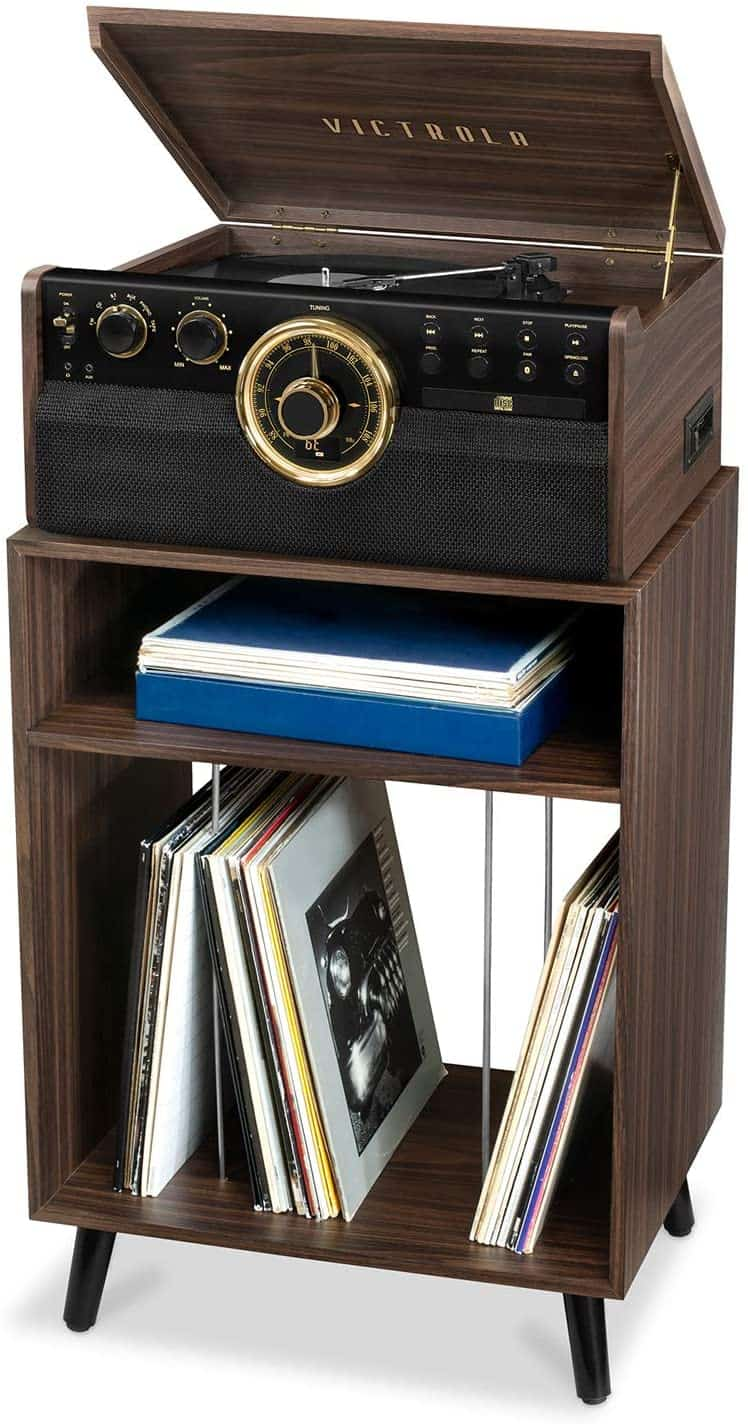 Victrola Entertainment Record Player Stand Review