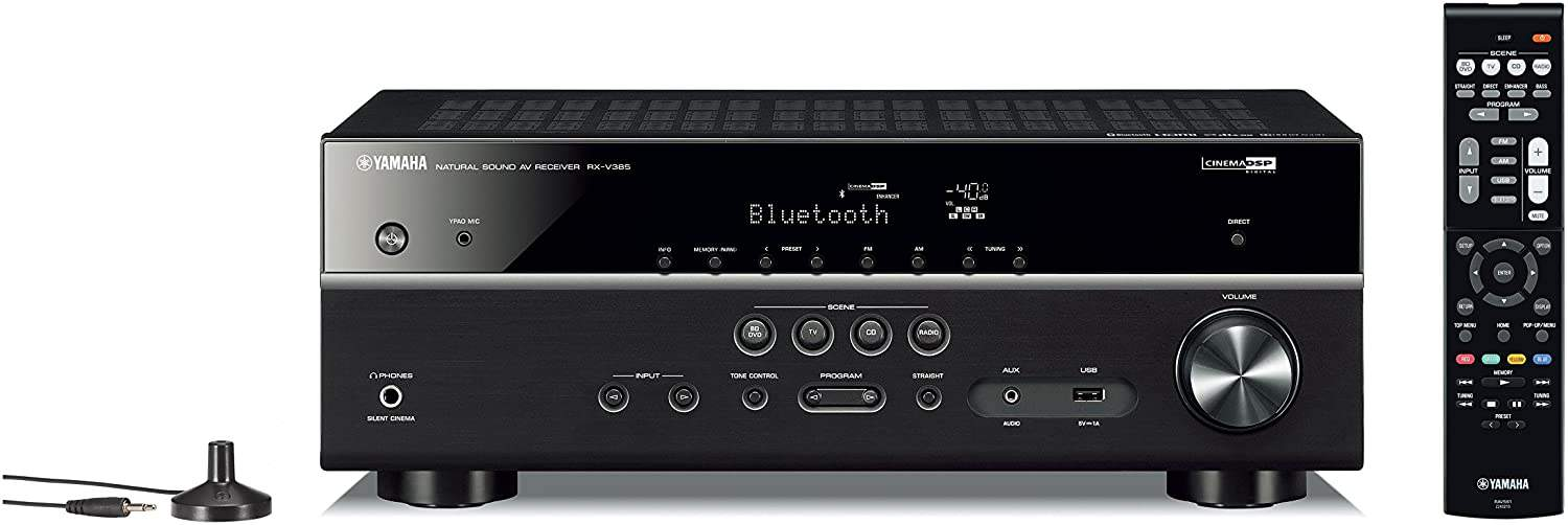 Yamaha RX-V385 Home Theatre Amplifier