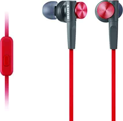 Sony MDR-XB50AP/R Extra Bass Earbuds Review